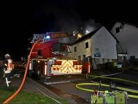 In den frühen Morgenstunden des 9. Mai brannte eine Scheune in Rengershausen.