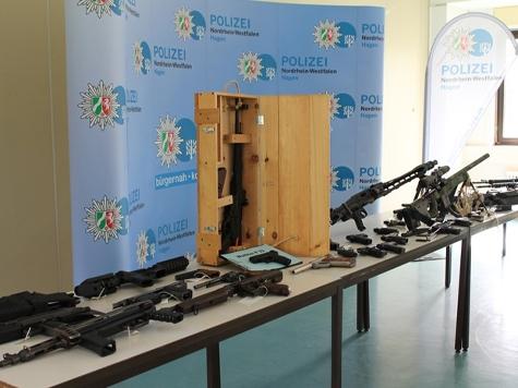Die Polizei in NRW verbuchte einen Erfolg gegen den illegalen Waffenhandel.