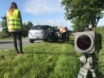 Am 2. Juli krachte es auf der Bundesstraße 252 bei Helsen - ein Golf und ein Opel wurden beschädigt.