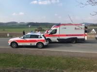 Am Diemelsee verletzte sich ein Waldarbeiter schwer.