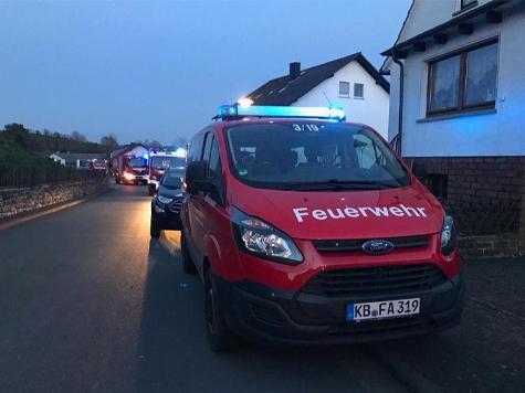 Die Allendorfer Feuerwehr musste am Montag gleich zwei mal ausrücken.
