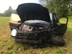 Am 19. Mai verunglückten zwei Personen auf der Kreisstraße 14 zwischen Wethen und Ossendorf - der Beifahrer entfernte sich von der Unfallstelle, die Fahrerin kam schwerverletzt in ein Krankenhaus..
