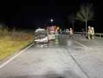 Am 14. November brannte ein Mercedes-Benz auf der Bundesstraße 252 kurz vor Twiste aus.