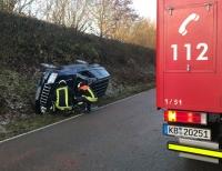 Am 19. Dezember ereignete sich ein Alleinunfall auf der L 3198 in Höhe des Schanzenhofs