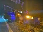 Am 17. November 2020 kam es auf der Bundesstraße 253 zu einem Alleinunfall - ein BMW musste mit Totalschaden abgeschleppt werden.