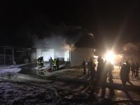 In Halgehausen entstand bei einem Brand ein Sachschaden von 150.000 Euro