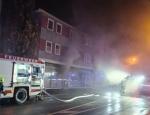 Diese Bar wurde am 16. November ein Raub der Flammen.