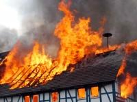 Ein Fachwerkhaus in Warburg brannte am 15. Oktober 2020