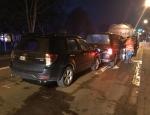 In der Korbacher Heerstraße kam es am Mittwochabend zu einem Auffahrunfall mit verletzten Personen