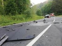 Zwischen Alme und Nehden ereignete sich ein schwerer Verkehrsunfall.