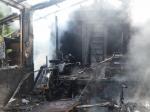 In Höringhausen brannte am Dienstagvormittag eine Gartenhütte.