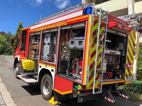Frankenberg: Angebranntes Essen in der Wohnung eines Mehrfamilienhauses am Obermarkt rief die Brandschützer am 5. Juli auf den Plan.
