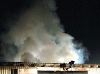 Hoher Sachschaden entstand bei einem Brand der Firma Hartinger in Rimbeck.