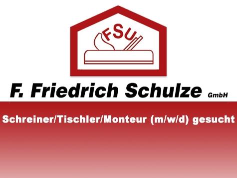 Die F. Friedrich Schulze GmbH sucht derzeit Verstärkung.