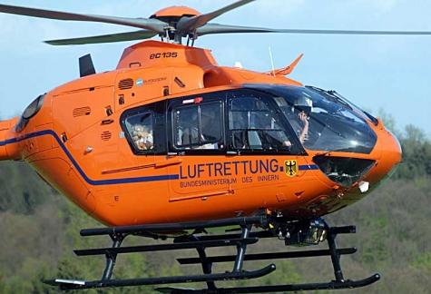 Mit einem Rettungshubschrauber wurde der 71-Jährige am 20. Oktober ins Krankenhaus nach Kassel geflogen.