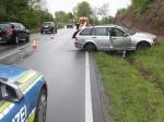 Zwischen Höxter und Godelheim kam es am Donnerstag zu einem Unfall.