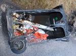 Eine Mülltonne wurde in Bad Arolsen angesteckt - die Polizei sucht Zeugen