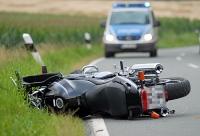 Ein Motorradfahrer aus dem Landkreis Kassel wurde am 17. September nur leicht verletzt.
