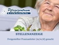 Das Pflegezentrum Lichtenfels sucht einen Praxisanleiter (m/w/d)