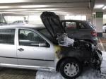 Ein Fahrzeugbrand rief die Feuerwehr Paderborn am Dienstag auf den Plan.