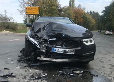 Am 13. Oktober ereignete sich ein Verkehrsunfall auf der Strother Straße.