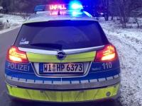 Am 11. Dezember ereignete sich auf der B 253 ein Unfall auf glatter Straße.