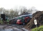 Die Feuerwehr wurde am 14. November nach Geismar alarmiert.