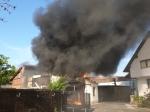 In Kassel kam es am Samstagnachmittag zu einem Großbrand.