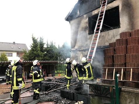 In Geismar brannte am 28. Mai ein Wohnhaus.