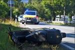 Schwerer Rolerunfall zwischen Bromskirchen und Hallenberg