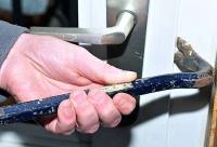 Am 11. Januar 2020 lösten unbekannte Einbrecher bei dem Versuch in ein Haus einzusteigen Alarm aus.