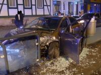 Kasseler Einsatzkräfte wurden am Samstag zu einem Unfall alarmiert.