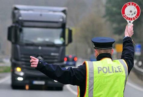 Polizeikontrollen in Waldeck-Frankenberg.