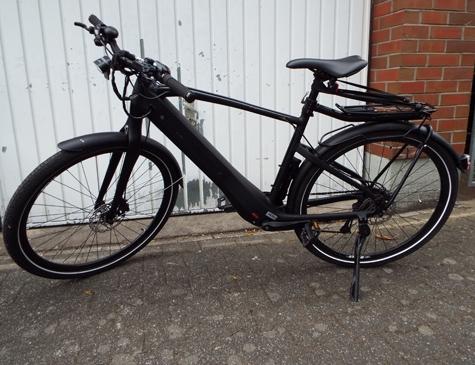Dieses Fahrrad gehört vermutlich der toten Person.