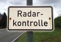 In Immighausen wird eine Geschwindigkeitskontrolle durchgeführt.
