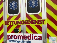Der Rettungsdienst war am 11. Dezember auf der Landesstraße 3084 im Einsatz.