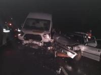 Auf der Bundesstraße 236 ereignete sich am Samstagmorgen ein Unfall.