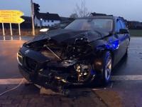 Zwei Fahrzeuge wurden an der Viessmannkreuzung in einen Unfall verwickelt - die Lichtzeichenanlage ist seit dem 20. Januar außer Betrieb