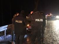 Beamte der Polizeistation Korbach hatten am 15. Februar viel zu tun - unter anderem mussten sie einen Albaner verfolgen.