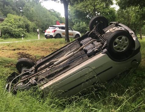 Am 12. Juni kam es am Nachmittag zu zwei Unfällen im Raum Frankenberg.