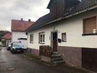 In diesem Gebäude in der Violinenstraße wurden am 5. November Waffen gefunden.
