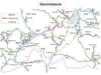 Ein Teilabschnitt der Bundesstraße 253 bleibt bis zum 10. August gesperrt.