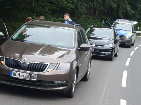 Am 28. Juni kam es auf der B251 in Waldeck-Frankenberg zu einem Auffahrunfall.