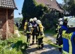 Die Feuerwehren aus Marsberg, Obermarsberg, Westheim und Erlinghausen waren am 7. August im Einsatz.