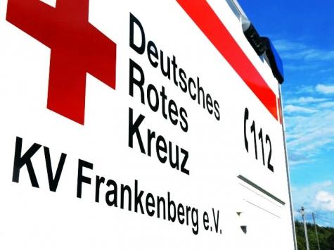 Mit einem RTW wurde am 13. Juni ein Motorradfahrer ins Krankenhaus nach Frankenberg gefahren.