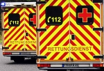 Unfall in Odershausen: Mit einem Rettungswagen musste am Montag ein Kind nach Kassel transportiert werden.