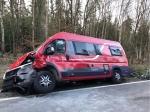 Mit diesem Fiat stieß der Fahrer des Trabant am 8. April auf der Landesstraße 3077 zusammen.