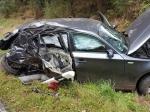 Bei einem Unfall bei Römershausen wurde eine 18-Jährige schwer verletzt.