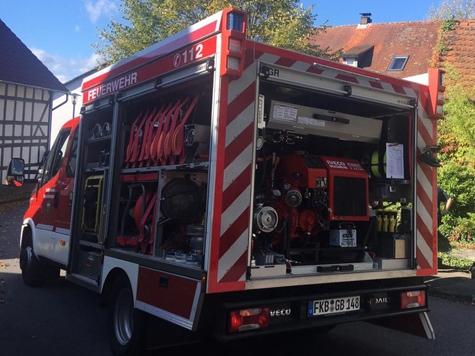 Am 12. Oktober 2019 rückte die Freiwillige Feuerwehr Burgwald aus.