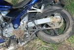 Mit ihrer Suzuki stürzte am 29. August eine Frau aus Niedersachsen.